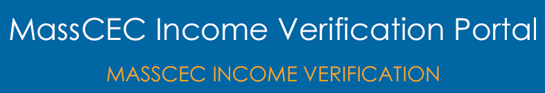 MassCEC Income Verification Portal